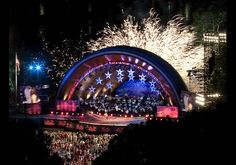 Hatch Shell, July 4th, Boston Pops, fireworks, Boston, MA
