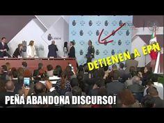 """Peña Nieto por error """"ABANDONA EL DISCURSO"""" Le llaman la """"Atención"""" para que regrese a continuarlo - YouTube"""
