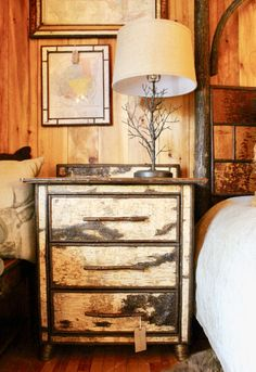 Wenonah 5u0027 Stepback Cupboard Handcrafted From Reclaimed Antique Barnwood,  White Birch, And Willow | By Dartbrook Rustic Goods | Adirondacks |  Pinterest ...