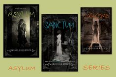 Asylum series by Madeleine Roux