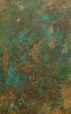 Feast your eyes on a rich combination of copper, bronze and teal tones with our 'copper verdigris wallpaper mural'. This rust effect copper wallpaper mural depicts naturally aged metal with exposed patina formations that create a refreshing mix of warm and cool tones. The copper verdigris wallpaper mural is an exquisite, industrial backdrop that is perfect for display in a space that has lots of complimentary metallic and charcoal accents, such as the kitchen or living room. Copper Wallpaper, Trippy Wallpaper, Green Wallpaper, Photo Wallpaper, Pattern Wallpaper, Wallpaper Iphone Cute, Funky Wallpaper, Portrait Background, Aging Metal