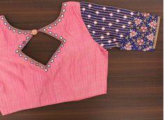 Latest designer blouse design - The handmade craft Lehenga Designs, Kurta Designs, Simple Blouse Designs, Stylish Blouse Design, Fancy Blouse Designs, Bridal Blouse Designs, Blouse Neck Designs, Latest Saree Blouse Designs, Brocade Blouse Designs
