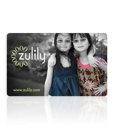 Take a look at this zulily gift card by Gift Cards on #zulily! Perfect gift if you ask me :)