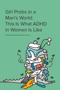 ADHD doesn't look the same in girls as it does in boys. From missed symptoms to misdiagnoses, women with ADHD fight a unique battle of their own. Adhd Odd, Adhd And Autism, Inattentive Adhd, Adhd Facts, Adhd Quotes, What Is Adhd, Adhd Diagnosis, Adhd Help, Adhd Diet