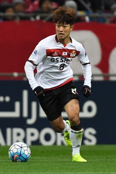Lee Sangho of FC Seoul in action during the AFC Champions League match Group F match between Urawa Red Diamonds and FC Seoul at Saitama Stadium on February 28, 2017 in Saitama, Japan.