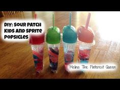 #DIY Summer Treats: Sour Patch Kids And Sprite Popsicles - QueenBeeingQueenBeeing