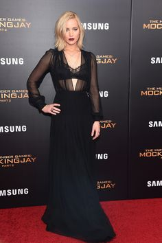 Jennifer Lawrence. Red Carpet Style. #style #fashion
