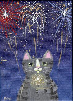 Happy New Year Kitty