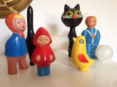 My Niklova's vintage toys