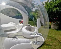 Cristal Bubble. The Luxury camping