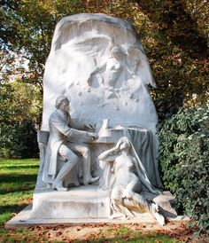 Chopin Monument, Parc Monceau, Paris
