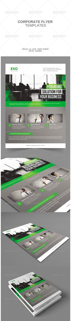 Corporate Flyer Template PSD | Buy and Download: http://graphicriver.net/item/corporate-flyer/8076641?WT.ac=category_thumb&WT.z_author=Subagja&ref=ksioks