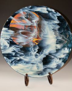 Whimsy Glass Moon Bowl