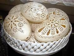 egg shell art