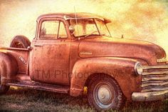 Chevy  Old Chevy  Rusty Old Chevy  Chevy Truck  by turquoisemoon