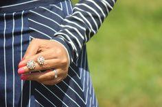 My Fashion Fixes: Pairing Horizontal & Vertical Stripes