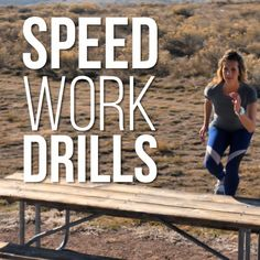 SPEED we go after it with intervals and repeats, but that often leads to injury. So Amanda Brooks has a full video of quick running drills you can do before a workout and more speed tips while preventing injury. Track Training, Running Training Plan, Running Drills, Running Humor, Running Motivation, Running Tips, Training Equipment, Trail Running, Running Quotes