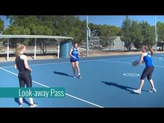 Look Away Pass - NetballCoach. Netball Coach, Rugby Girls, Rugby League, Kids Sports, Rowing, Physical Education, T Shirts, Coaching, Basketball