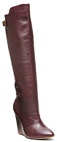 Wedge Tall Boots