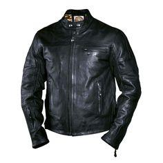 Roland Sands Ronin Leather Jacket - Black | Roland Sands Jackets | FREE UK delivery - The Cafe Racer