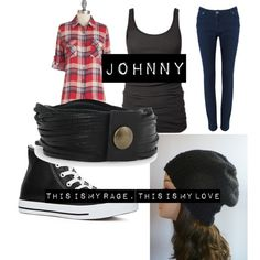 Johnny from American Idiot inspired outfit American Idiot Musical, Green Day American Idiot, Spotlight Costumes, Fandom Outfits, Inspired Outfits, Disneybound, Knit Beanie, Theatre, Knitted Hats