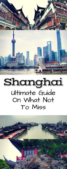 China Travel: Shanghai itinerary of the top things to do and destinations to see. Check out our full guide with tips on how to visit The Bund, Yuyuan Garden, Zhujiajiao Old Town, and more! includes tips on how to ride the metro. See full post here: https://togethertowherever.com/shanghai-three-day-experience/