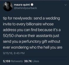 65 Best ideas for funny memes marriage facts Cute Wedding Ideas, Wedding Goals, Wedding Tips, Perfect Wedding, Our Wedding, Dream Wedding, Wedding Stuff, Wedding Planning Hacks, Wedding Reception