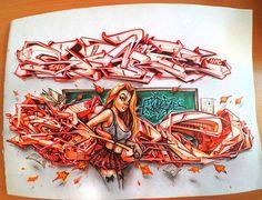 Graffiti Piece, Love Graffiti, Graffiti Tagging, Graffiti Drawing, Graffiti Styles, Street Art Graffiti, Graffiti Alphabet, Graffiti Lettering, Graffiti Wildstyle