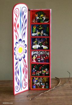 Retablo, 'Scenes from My Land' by NOVICA