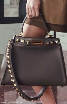 b7944c52a17f2 Terrific Fendi 2017 Street Style Handbags