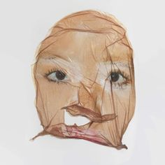 "32-leaves:  "" ""face mask"" by John Yuyi  """