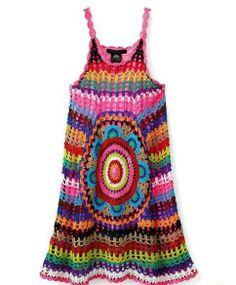 vestido tejido