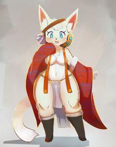 Yiff Furry, Anime Furry, Furry Pics, Furry Art, Cyberpunk Girl, Furry Comic, Cat Character, Furry Drawing, Anthro Furry