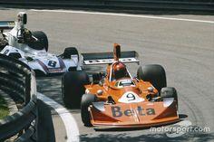 1975. Vittorio Brambilla_9. March 741 Ford & Carlos Pace_8. Brabham BT44B.