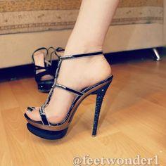 high heels – High Heels Daily Heels, stilettos and women's Shoes Ankle Strap Heels, Strappy Heels, Pumps Heels, Stiletto Heels, Hot Heels, Sexy Legs And Heels, Pantyhose Heels, Nylons, Platform High Heels