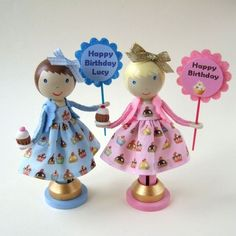 clothespin dolls | Bead Happily Ever After