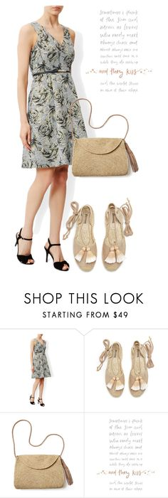 """""""dress"""" by masayuki4499 ❤ liked on Polyvore featuring Monsoon, Soludos and Mar y Sol"""