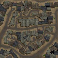 Fantasy City Map, Fantasy World Map, Fantasy Places, Tabletop Rpg, Virtual Tabletop, Tabletop Games, Pathfinder Maps, Village Map, Rpg Map