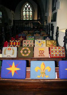 File:Kneelers in Stutton Church - geograph.org.uk - 840622.jpg