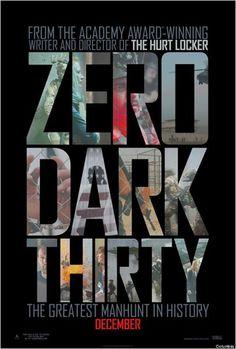 A Hora Mais Escura (Zero ark thirty) - Lançamento: 18 de janeiro de 2013