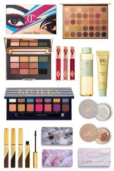 There have been some seriously lust worthy launches from Charlotte Tilbury, ABH, Pixi, Morphe and Revolution hitting stores this month. Glitter Eyeshadow, Eyeshadow Palette, Lottie London, Love Lips, Rose Family, Makeup News, Beauty Bay, Beauty News, Metallic Blue