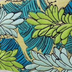 Working on our bananas with @Sophia 203. Stay tuned...#ecru #ecruonline #regram #sophia203 #embroidery #ss2014 #tropical #pouchesFollow