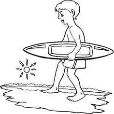 8 Best Surfboard Coloring Pages images | Surfboards, Luau party, Surf