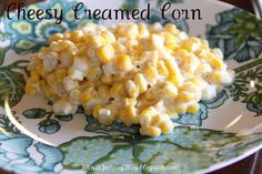Cheesy Creamed Corn! 2 of my favorite things, cheese and corn!