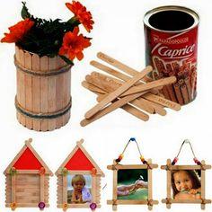Reciclagem, decoração, ideias criativas, práticas e coisas e tal...               Bichinhos feitos com rolo de papel higiênico.         B...