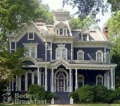 Beautiful Blue Victorian