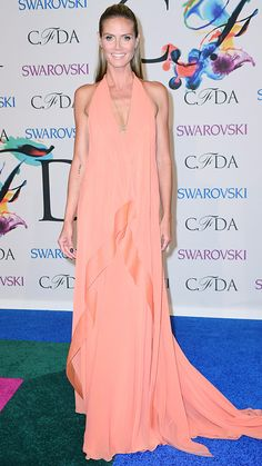 See the Looks from the 2014 CFDA Fashion Awards - Heidi Klum from #InStyle