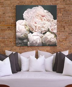 Another great find on #zulily! Peonies I Wrapped Canvas by iCanvas #zulilyfinds