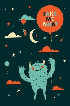 Greg Abbott Illustrations, Typography and Graphic - Monster for Kids
