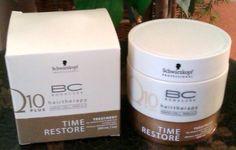 BC Time Restore Q10 Plus Kur - BC Time Restore Pflegeserie von Schwarzkopf Professional. Die gesamte Pflegelinie umfasst folgende acht Produkte: Shampoo, Satin Spray, Conditioner, Glanz Spray, Volu...
